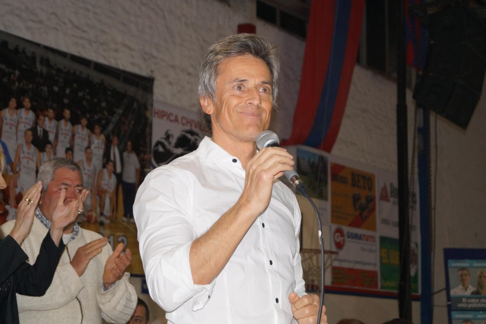 Randazzo votó y habló del caso Santiago Maldonado