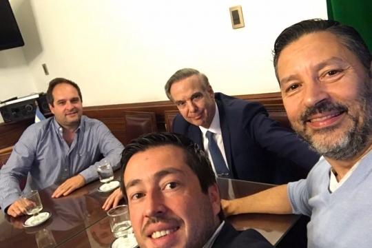 Pichetto se reunió con tres intendentes de Unidad Ciudadana