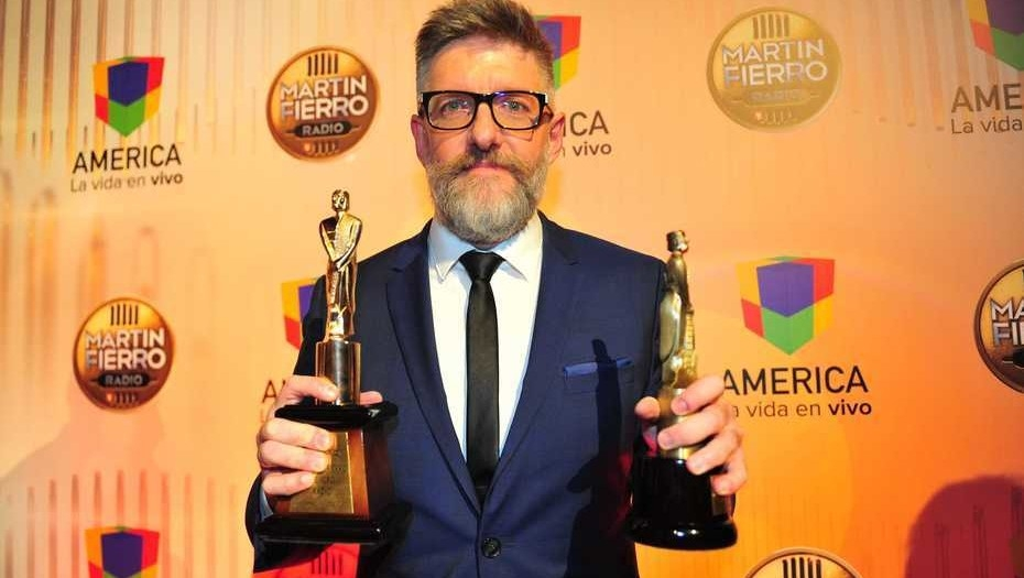 Alfredo Leuco se enfureció al recibir su premio — Premios Martín Fierro