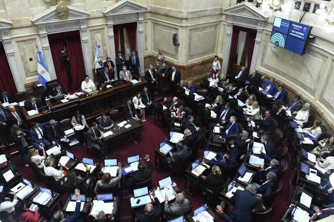 Reforma previsional y al pacto fiscal: El Senado le dio media sanción