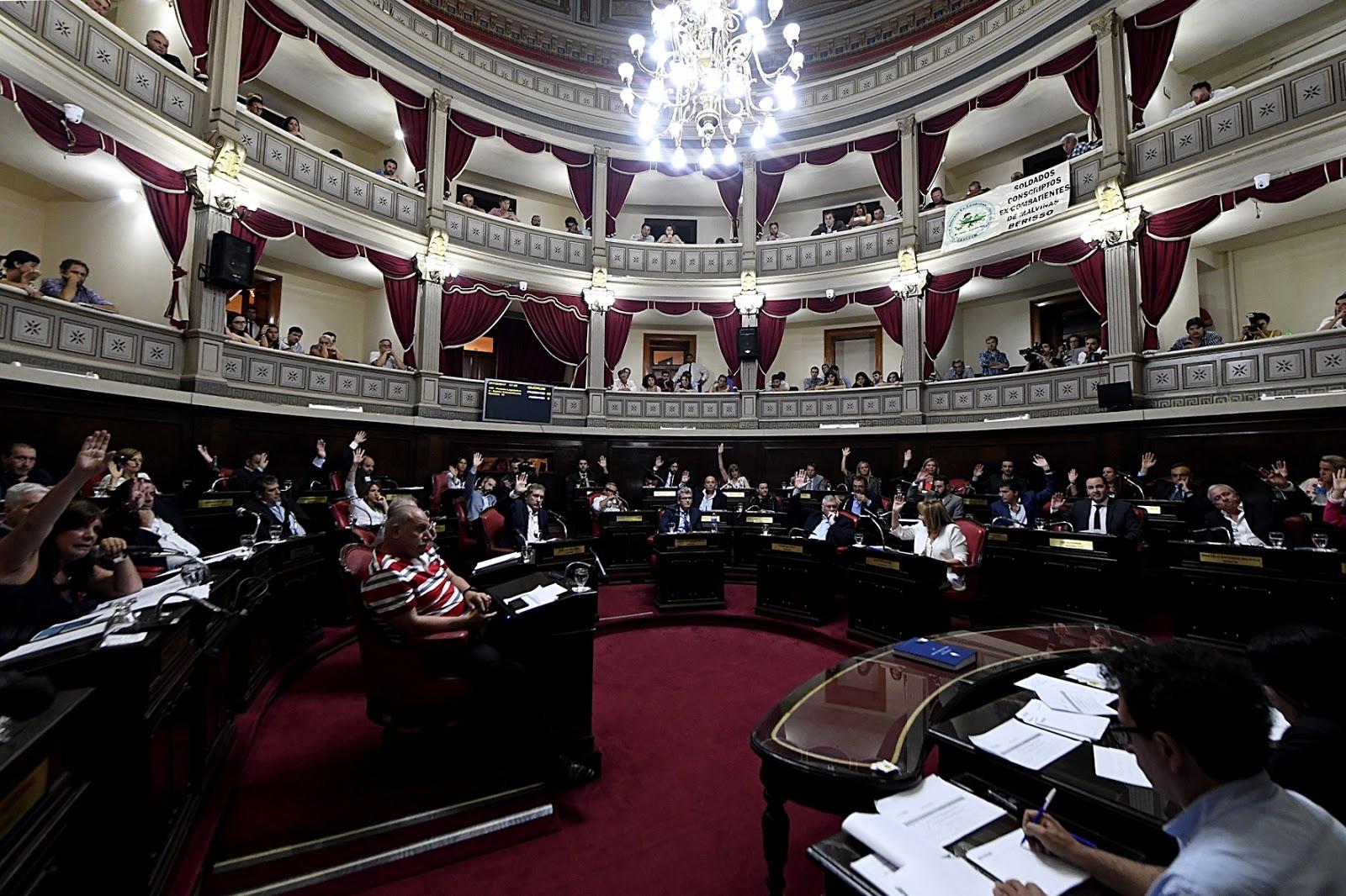 La Cámara de Diputados bonaerense aprobó la adhesión al Pacto Fiscal