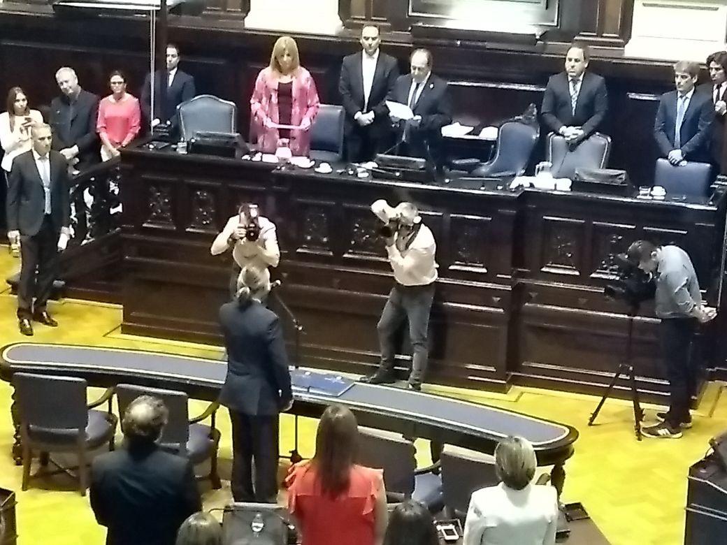 Asumen los legisladores bonaerenses que fueron elegidos el 22 de octubre