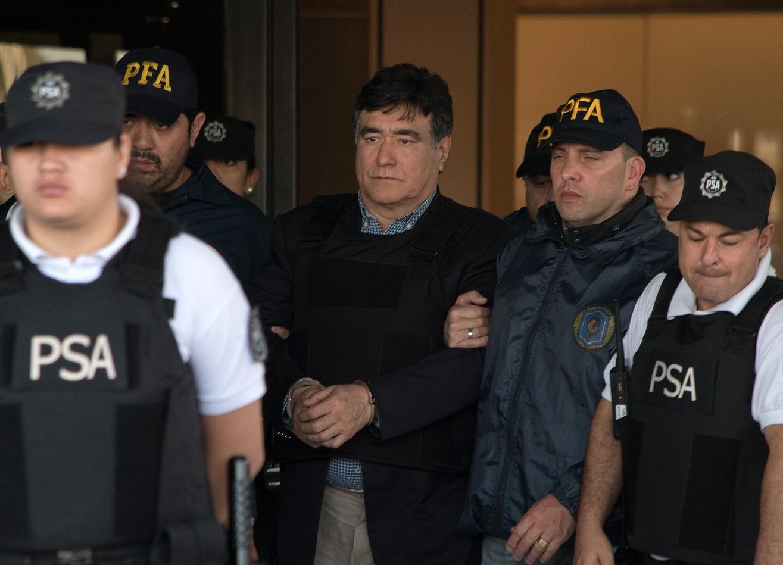 Carlos Zannini quedará detenido en la cárcel de Ezeiza