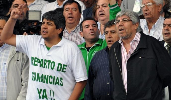 Argentina denuncia a sindicalistas por supuesto lavado de dinero y evasión fiscal