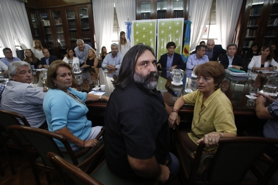 Vidal volvió a convocar a los gremios — Paritaria docente