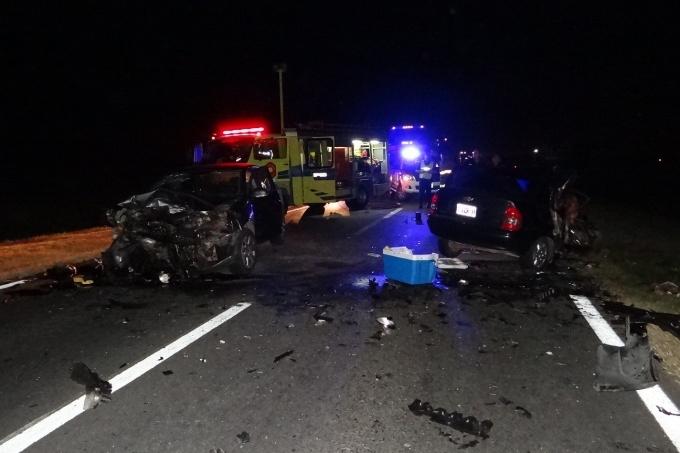 Mueren cinco personas en un accidente en Ruta 188 — Junin