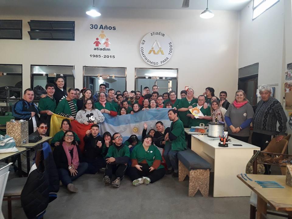 Estudiantes de Europa en Chivilcoy, en el marco del programa de ...