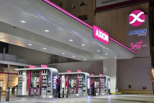 Axion ya aumentó hasta 8,8% los combustibles en sus estaciones