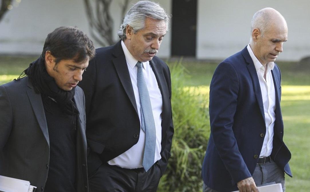 Alberto F. se reúne con Kicillof y Larreta para definir cómo sigue ...