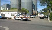 Roban agroquímicos y dañan las oficinas de Huergo Cereales