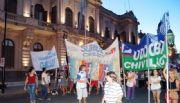 Histórica marcha de unidad docente en Chivilcoy