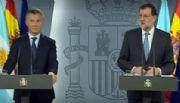 """Rajoy: """"Celebramos la ambiciosa política reformista que logró Macri"""""""