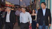 Adelanto: El diputado Massa recorrió la ciudad