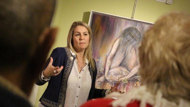 Mariel Butti expone en el Encuentro internacional de artistas en Colombia