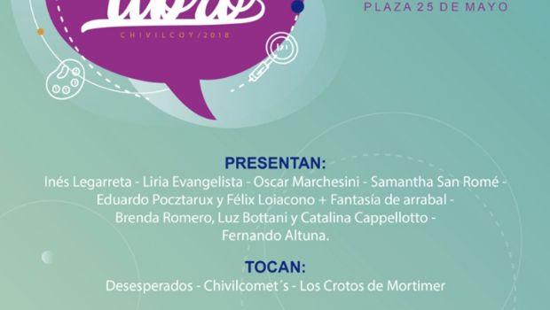 Se pone en marcha la Feria del Libro Chivilcoy 2018