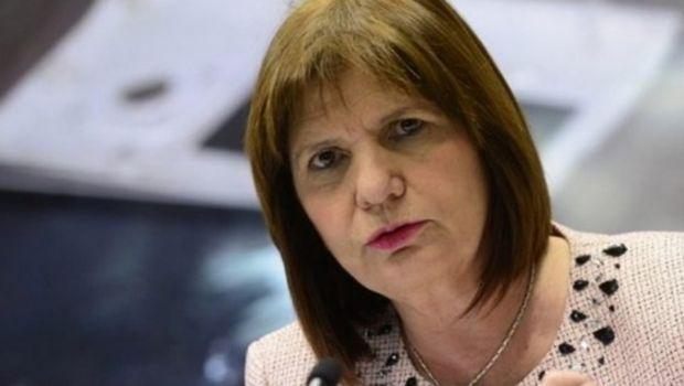 Patricia Bullrich apoya la idea de que el Congreso debata el protocolo policial