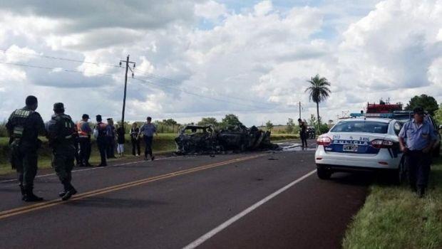 Tragedia: al menos diez muertos en un choque frontal