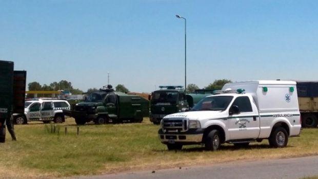Detienen a transportistas de granos  tras haberse manifestado en la ruta