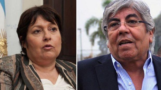 """Graciela Ocaña: """"Tengo temor, hago responsable a Hugo Moyano si algo me pasa"""""""