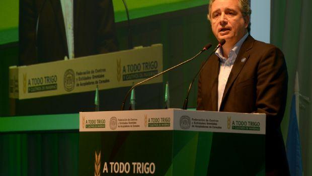 "Etchevehere: ""El campo vuelve a apostar al trigo"""