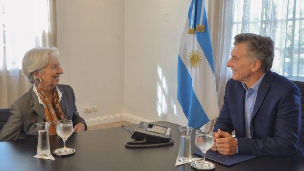 """Fuerte respaldo del FMI al presidente Macri al elogiar el pedido de """"acelerar"""" el ajuste."""