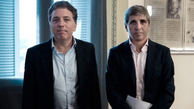 Fuerte de respaldo del ministro de Finanzas Caputo al nuevo rol de Dujovne