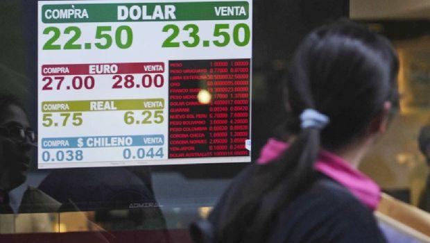 El dólar aumentó $1,85 en un día y cerró a 23,30 en el Banco Nación