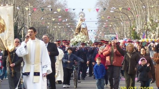 Comenzaron las Fiestas Patronales de la Virgen Nuestra Señora del Carmen