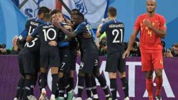 Francia venció a Bélgica y es el primer finalista del Mundial