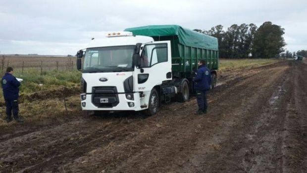 Aplicaron multas a camiones por romper caminos rurales