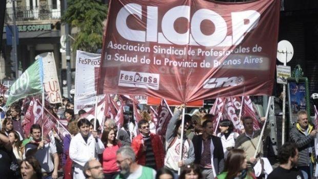 """Cicop advierte con profundizar """"todas las peleas"""" para que el gobierno los convoque a paritarias"""