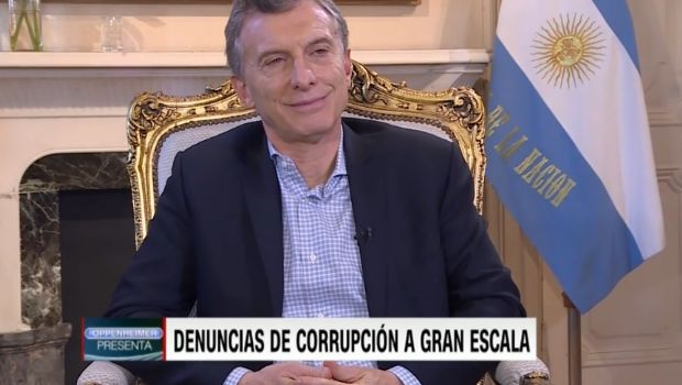 "Macri: ""Muchos me dicen que no me conviene que Cristina Kirchner vaya presa"""