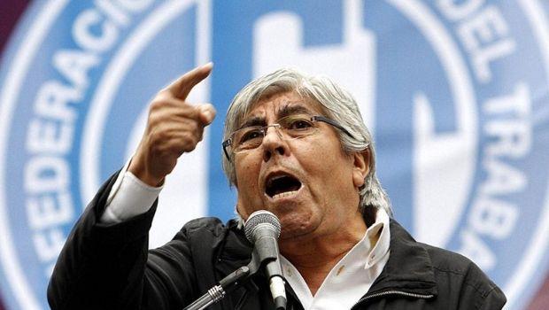 Camioneros marcha contra el embargo de fondos