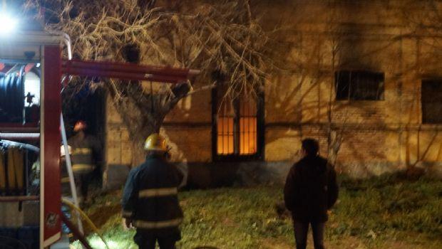 Incendio de una vivienda centenaria