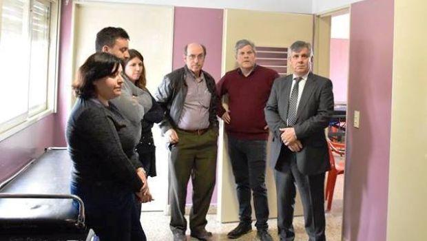 El Diputado Britos presente en la habilitación la  sala de internación para pacientes psiquiátricos