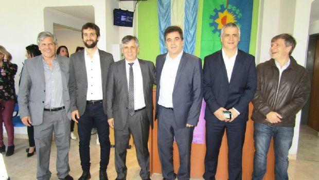 El Ministro Ritondo inauguró la Base de Prevención Operativa