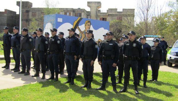 El Ministro de Seguridad de la Provincia  inauguró la Base de Prevención Operativa