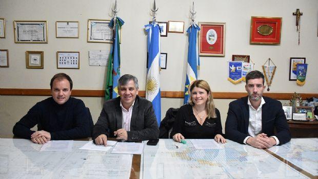 La Municipalidad y Movistar firmaron un convenio de notificaciones electrónicas