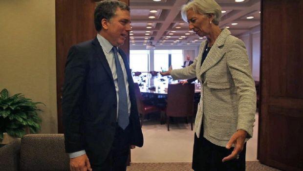 Dujovne se reúne con Lagarde para analizar un nuevo acuerdo con el FMI
