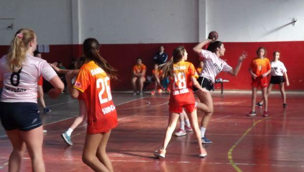 Clasificados regionales en handball