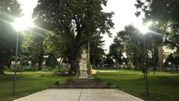 Se reinaugura la Plaza 9 de Julio