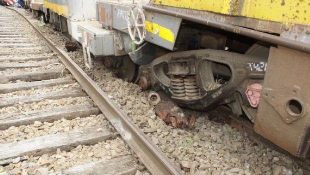 Descarrilló un tren de carga en Benítez