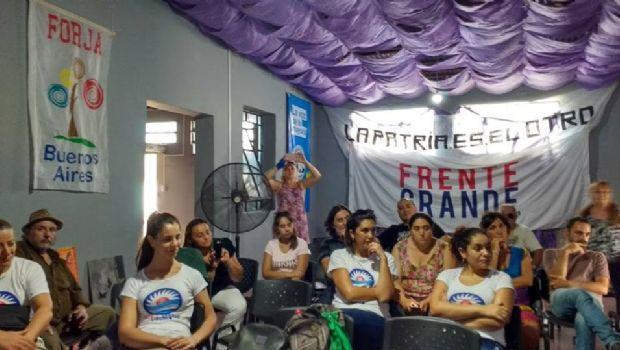 Se llevó a cabo el lanzamiento del Frente Territorial Cristina Conducción