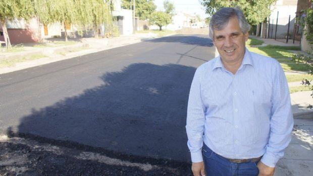 Final de la pavimentación en el barrio Nueva Aurora