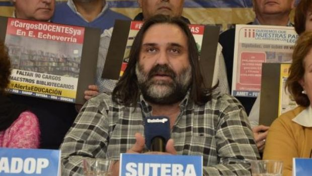 """Baradel afirmó que """"si Vidal da la cláusula gatillo, se podría """"llegar a un acuerdo"""""""