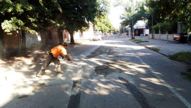 Habilitaron el tránsito en la calle Lavalle