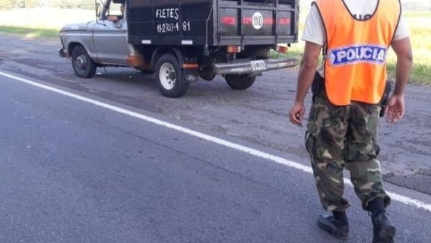 Importante operativo policial en la Ruta N° 5