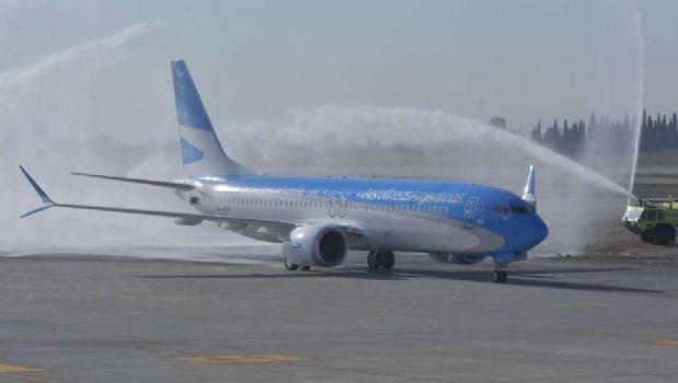 Aerolíneas suspende temporalmente los vuelos de sus Boeing 737 MAX 8