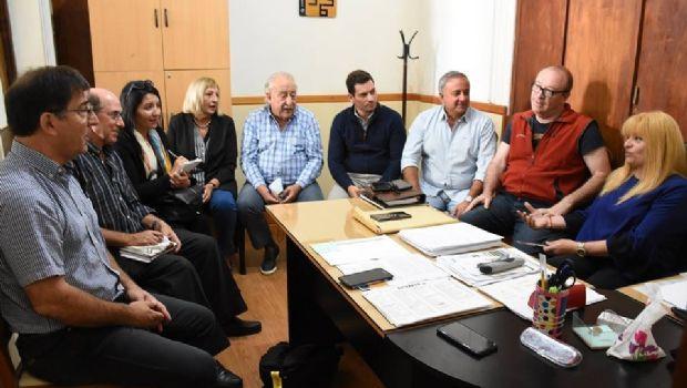 Reunión de secretarios con la jefa de Gabinete