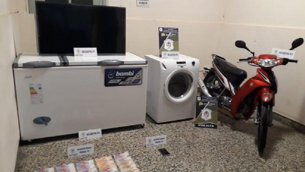Cuatro detenidos por el robo de 1,7 millones de pesos
